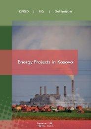 and GAP Institute - Kosovo Civil Society Consortium for Sustainable ...