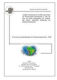 Pablo Reinhardt - Centro de Sensoriamento Remoto - UFMG