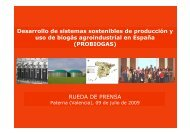 El proyecto PROBIOGAS