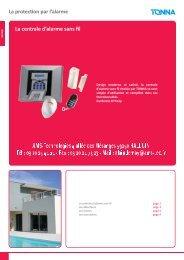 La centrale d'alarme sans fil - AMS Technologies