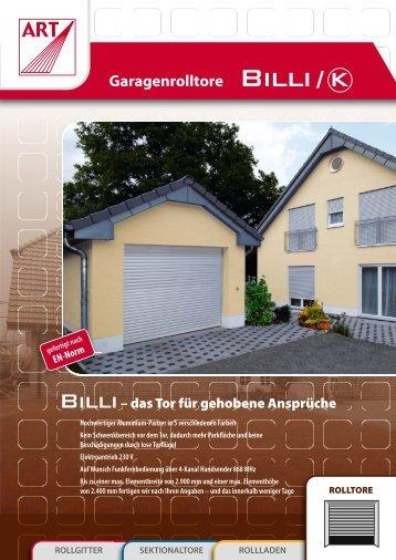 Garagentor Billi