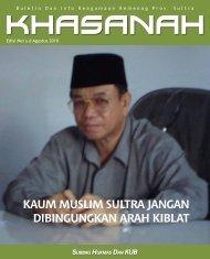 Majalah Khasanah Edisi 4 - Kemenag Sultra