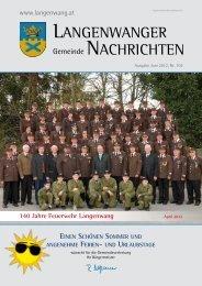 Gemeindezeitung Juni 2012 - Langenwang