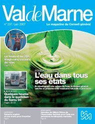 ValdeMarne n°237 - Conseil général du Val-de-Marne