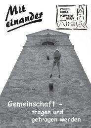 Pfarrbrief Schwertberg Nr. 142 2 / 2007 - Pfarre Schwertberg