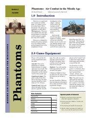 Phantoms - Wasatch Front Historical Gaming Society