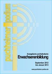 Katholische und Evangelische Erwachsenenbildung Januar 2012 ...
