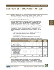 bOOmINg TacTIcS - Massachusetts Geographic Response Plans