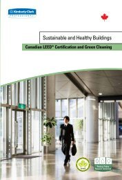 Sustainable and Healthy Buildings - Kimberly-Clark Professional