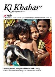 Schwerpunkt: Integrierte Dorfentwicklung Gemeinsam einen ... - Shanti