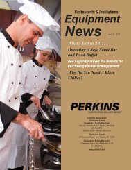 Equipment - Perkins