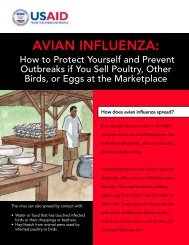 Avian Influenza: How to Protect Yourself and Prevent ... - AI.Comm
