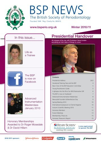 BSP News Winter 2010/11 - the British Society of Periodontology ...