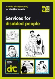 Services for disabled people - Birmingham Disability Resource Centre
