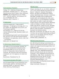Vereinsnachrichten 230710.pub - Gemeinde Bisingen