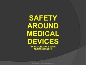 Safety Around Medical Equipment