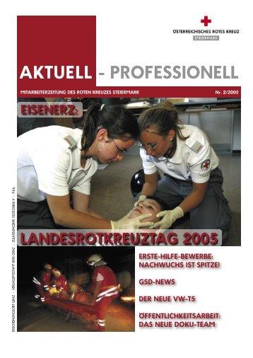 AKTUELL - PROFESSIONELL - Rotes Kreuz