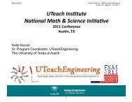 Women - The UTeach Institute