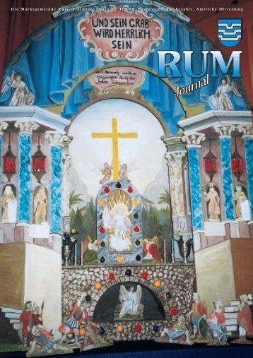 Rum Journal 2006/2 (2,2 MB) - Marktgemeinde Rum