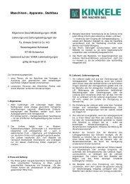 Download: AGB_Kinkele_Stand_2012.pdf - Kinkele GmbH & Co. KG