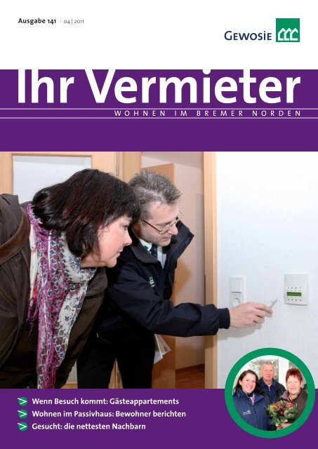 Ihr Vermieter - Gewosie - Wohnungsbaugenossenschaft Bremen ...