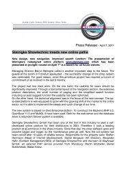 Steinigke Showtechnic treads new online paths