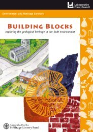 Building Blocks booklet - Leicestershire County Council