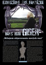 H.R. Giger: I Love Discovering New Things - the little HR Giger Page
