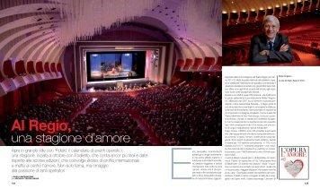 Al Regio, una stagione d'amore - Torino Magazine