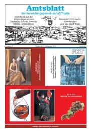 Amtsblatt der Verwaltungsgemeinschaft Triptis