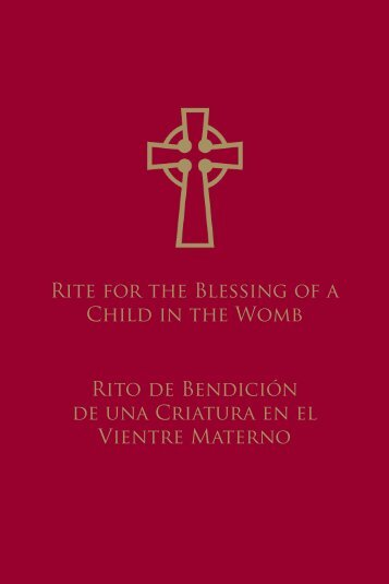 RitE FoR thE BlEssinG oF A ChilD in - United States Conference of ...