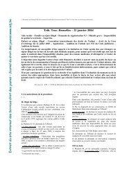 Trib. Trav. Bruxelles – 21 janvier 2004 EEE xxx ttt rrr ... - Medimmigrant