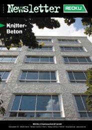 Knitter- Beton - RECKLI GmbH: Home