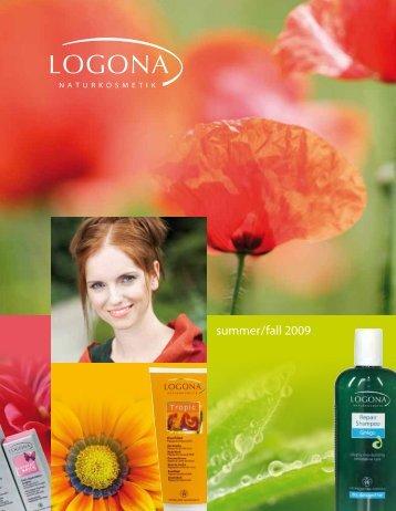 summer / fall 2009 - Logona