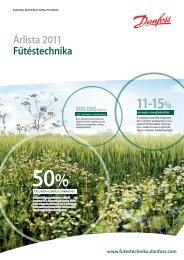 11-15% - Danfoss fűtéstechnika