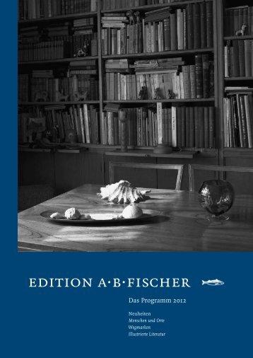 edition a·b·fischer - Angelika Fischer.