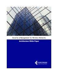 Fortress Architecture White Paper - Knoll Enterprises, Inc.