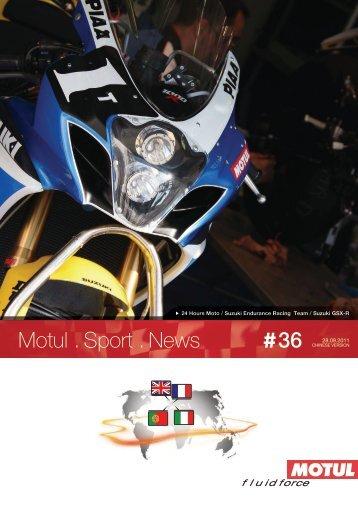 Motul . Sport . News 36