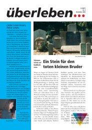 Überleben 4/2002 - Bundesverband Information und Beratung für ...