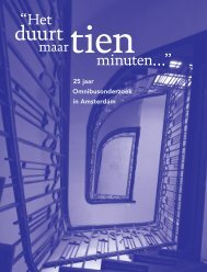 25 jaar Omnibusonderzoek in Amsterdam - Onderzoek en Statistiek ...