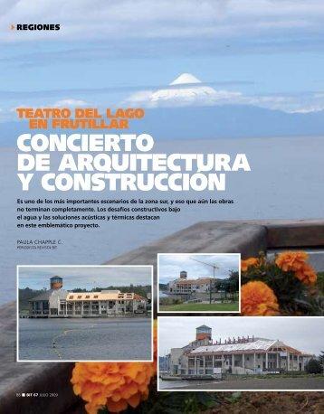 CONCIERTO DE ARqUITECTURA y CONSTRUCCIóN - Biblioteca