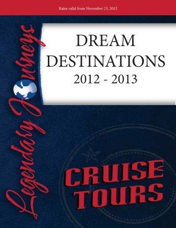 Dream Destination Book - Legendary Journeys