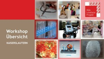 Unser Workshop-Angebot - Ada-Lovelace-Projekt