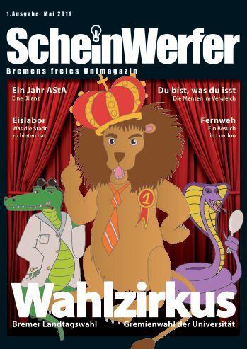 Jahre wieder - Scheinwerfer: Bremens freies Unimagazin: Issues ...
