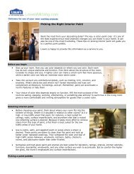 Picking the Right Interior Paint - Top Producer® Websites Customer ...