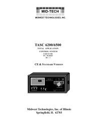 TASC 6200_6500 User Guide_CE - TeeJet