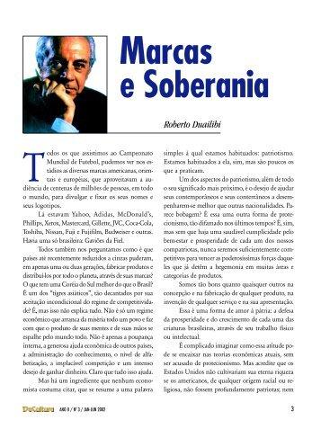 artigos - Marcas e Soberania - FunCEB