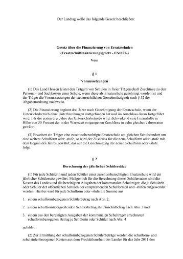 Gesetzesentwurf