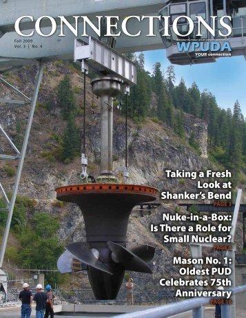 Vol. 3, No. 4 Fall 2009 - Washington Public Utility District Association