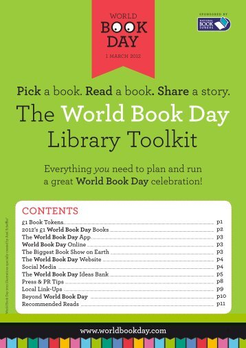 The World Book Day Library Toolkit
